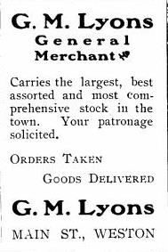 GM Lyons AD The High School Budget ca 1905
