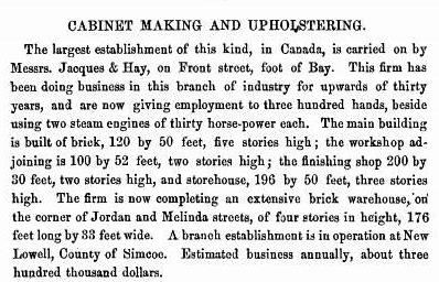 Jacques and Hay 1867 move to Jordan and Melinda